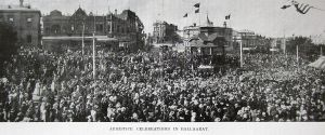Armistice Celebrations in Ballarat 1918