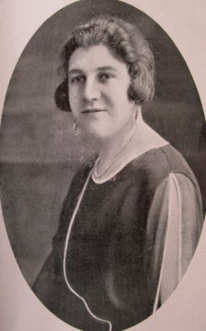 Miss Zillah LEVY 1925