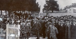 Miners Rest Memorial Opening 1920