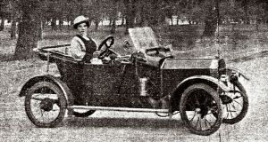 'Tilly' Thompson Motor Car