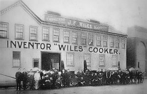 WILES Cooker Factory 1915
